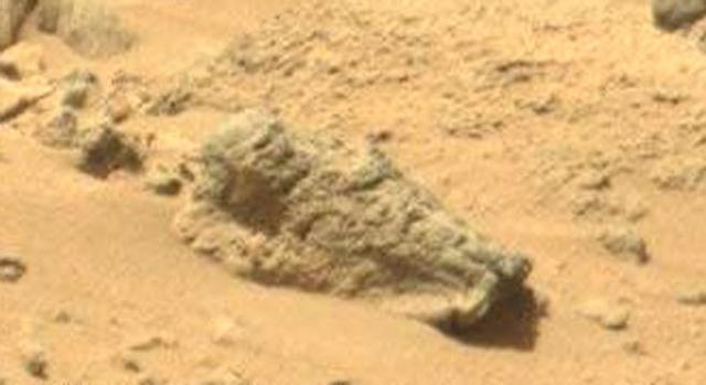 La presunta tomba di un cavaliere marziano