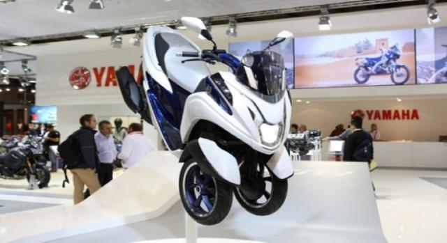 Yamaha Tricity veículo urbano apresentado em 2013.