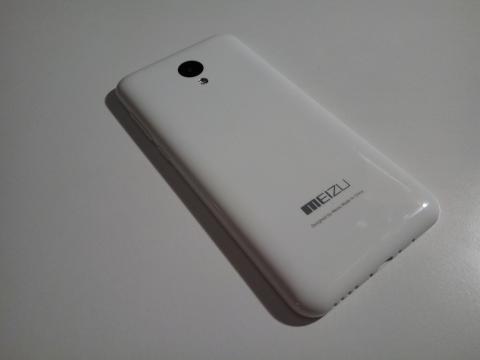 Meizu M2 Mini dettaglio cover posterore