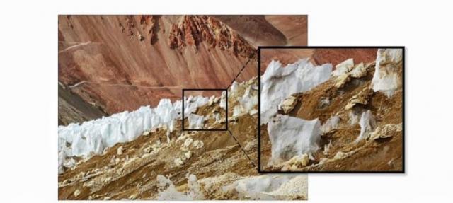 Basura en los glaciares chilenos