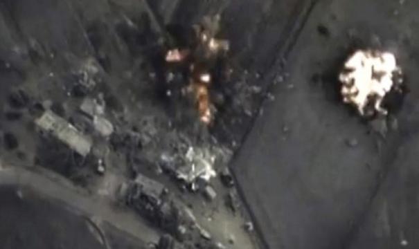 EE.UU. confirmó el bombardeo en Siria