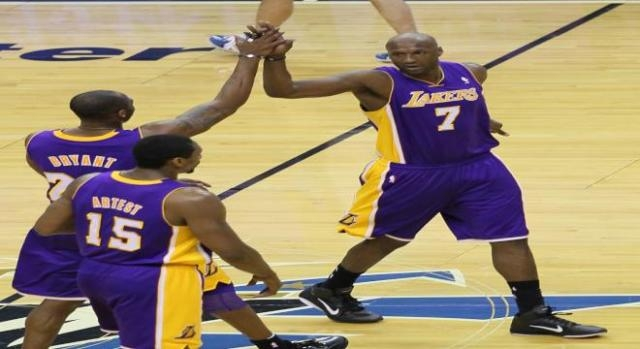 Former Laker spent nearly four days in a coma.