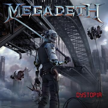 Capa do novo álbum dos Megadeth: Dystopia