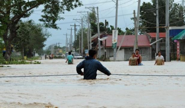 El tifón Koppu causó 497 inundaciones en Filipinas