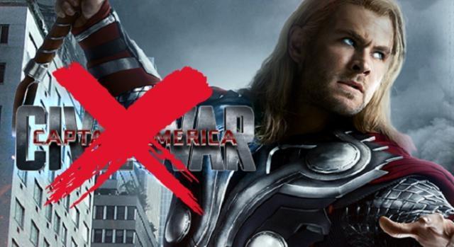 Thor, uno de los ausentes en Civil War