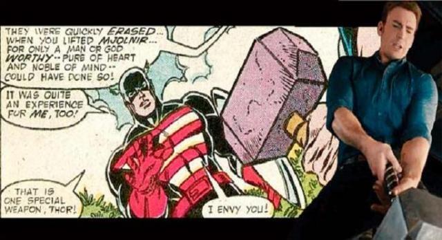 ¿Ayudará Thor al Capitán América?