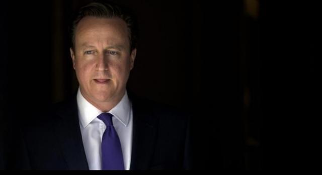 David Cameron cuando fue nombrado primer ministro