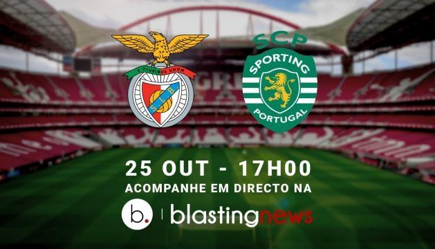 Benfica x Sporting em directo na Blasting News