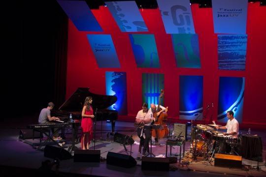 El quinteto actuó en el Festival Cervantino 2015