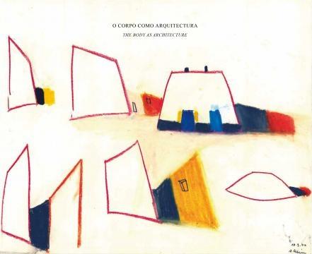 Capa do livro de desenhos de Álvaro Leite Siza.