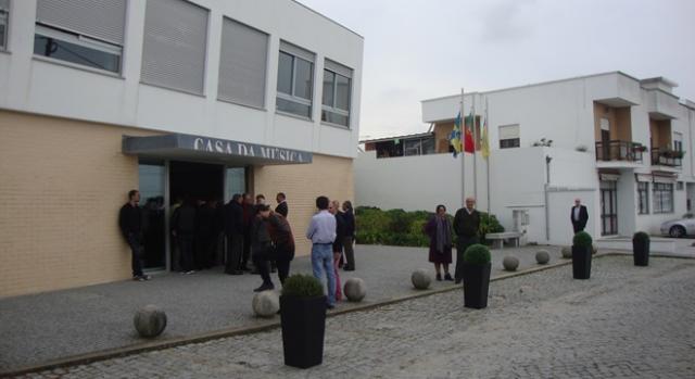 Aspecto do exterior Casa da Música de Antas