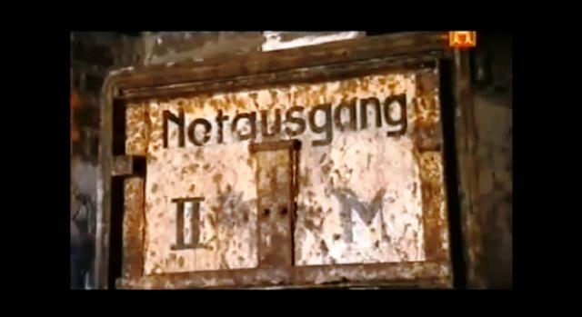 captura de pantalla Placa en refugio nazi