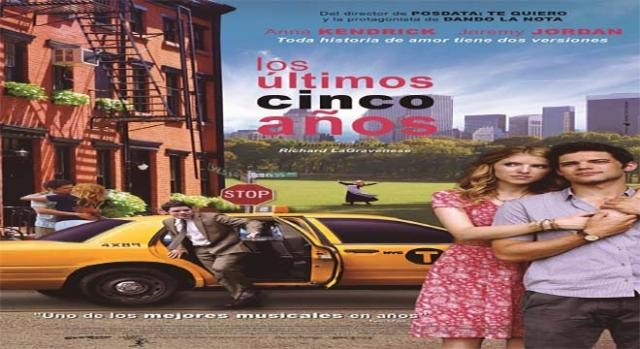 Cartel de la película Los últimos cinco años