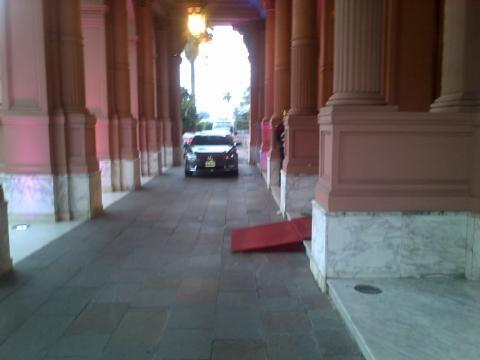 La anhelada salida de la Casa Rosada