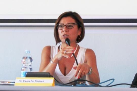 Paola De Micheli, sottosegretario Mef