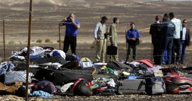 Restos del equipaje de las víctimas de la tragedia