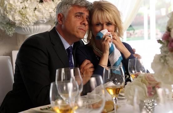 Dino Abbrescia e Luciana Littizzetto