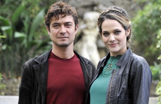 Riccardo Scamarcio e Laura Chiatti