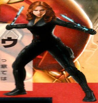 Black Widow victima de filtraciones