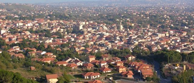 Veduta di Nicolosi, in provincia di Catania