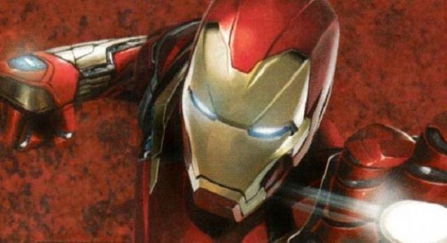Iron-Man y un nuevo diseño de máscara