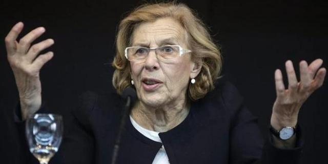 Manuela Carmena una de la política mejor valoradas