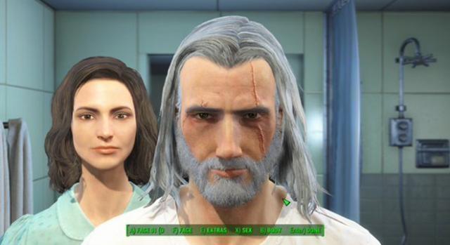 Geralt of Rivia el protagonista de The Witcher III