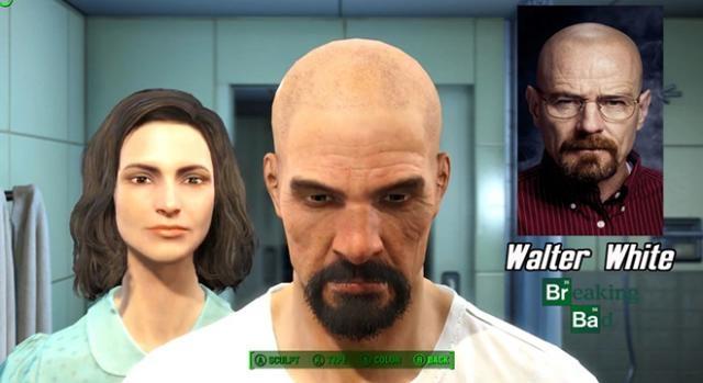Walter White de la serie Breaking Bad.