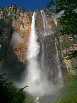 Esta es la caída de agua más larga del mundo.