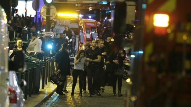 Sucesivos ataques terroristas en París.