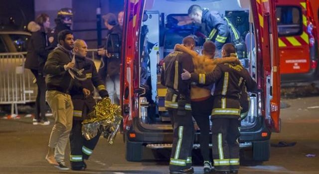 Heridos afuera del Estadio de Francia - EFE