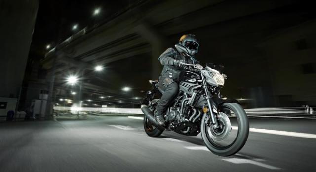 Yamaha MT-03 em dia com tendência mundial.