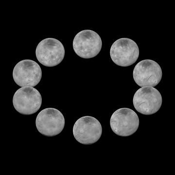 Imagen de un día en Charon. NASA/JHUAPL/SWRI