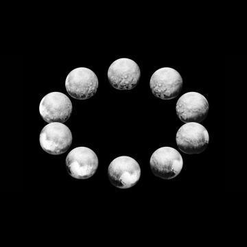 Imagen de un día en Plutón. NASA/JHUAPL/SWRI