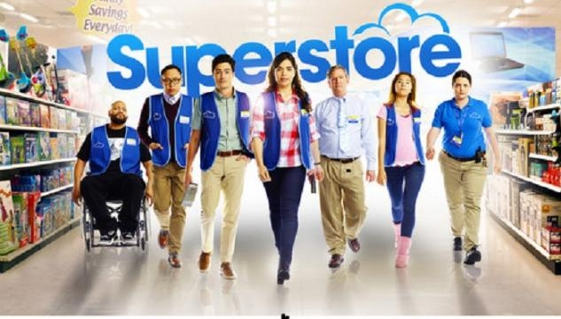 America Ferrera and the cast of Superstore
