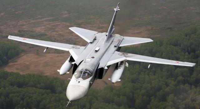 Turkey shoots down Russia's SU-24 warplane.
