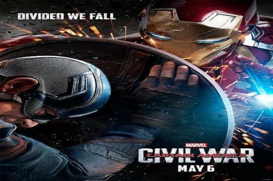 Podemos ver a Iron-Man atacando a Steve Rogers