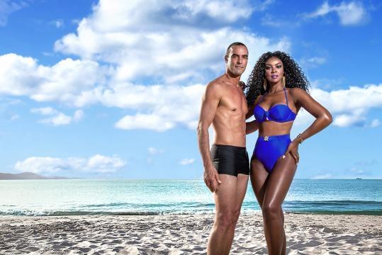 Paulo Zulu e Cris Vianna juntos em campanha