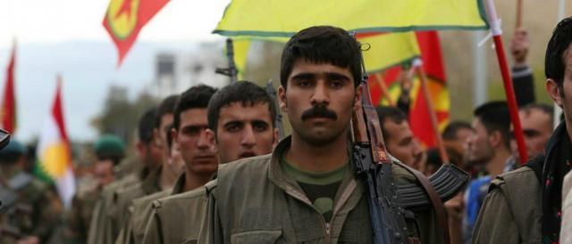 I militanti del PKK, partito dei lavoratori.