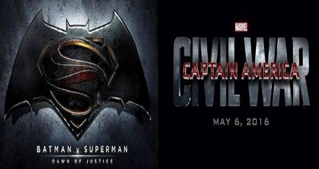 Batman v Superman pica en punta ante Civil War