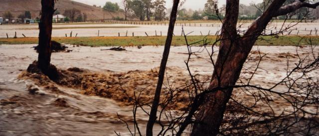 Immagini dell'alluvione nel Sud dell'Italia