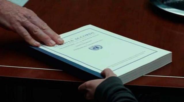 El registro de Superhéroes se relaciona a Sokovia