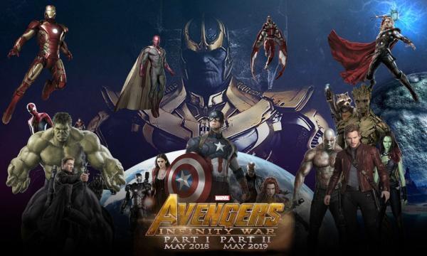 nuevo diseño para Avengers: Infinity War