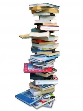 Großer Bücherstapel bild von pixelio