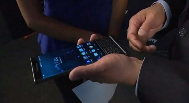 Blackberry Priv is first Android capable phone.