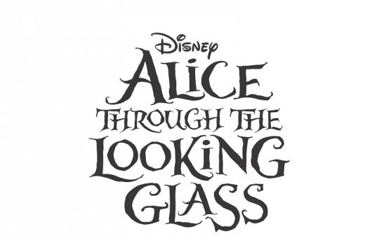 Alicia a través del espejo - Logo
