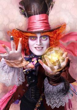 Poster individual del Sombrerero Loco/Johnny Depp