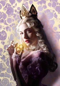 Poster individual Reina Blanca/Anne Hathaway