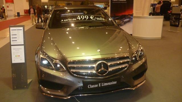 O Mercedes Classe E Limousine.