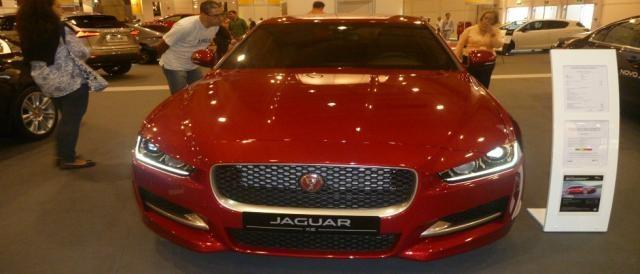 O potente e desportivo Jaguar XE